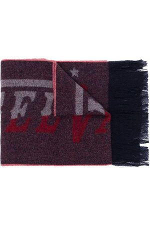 Diesel Men Scarves - Logo intarsia scarf