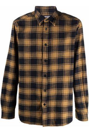Diesel Men Casual - Plaid flannel shirt