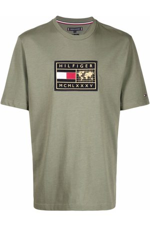 Tommy Hilfiger Men T-shirts - Embroidered-logo T-shirt