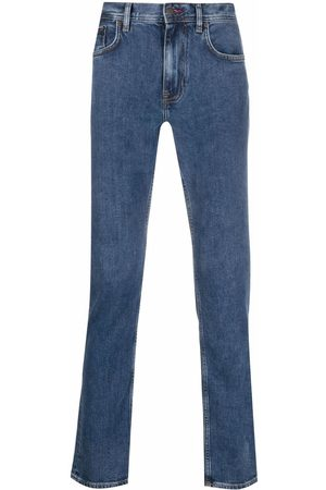 Tommy Hilfiger Logo patch straight-leg trousers