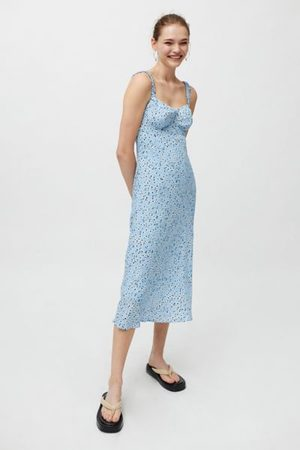 ASTR Halle Midi Slip Dress