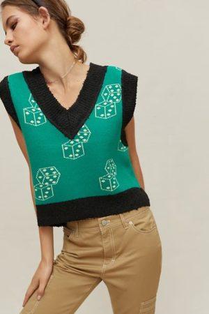 BDG Jordie Jacquard Sweater Vest