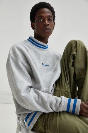 Champion Men Sweatshirts - Tipped Mock Neck Sweatshirt
