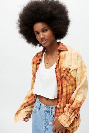 Urban Women Long sleeves - Recycled Dye Tech Flannel Shirt