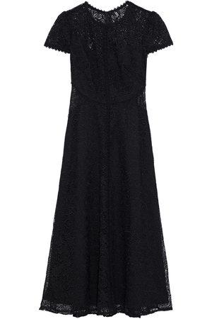 Ml Monique Lhuillier Women Midi Dresses - Woman Guipure Lace Midi Dress Size 0