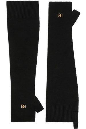 Dolce & Gabbana Virgin wool fingerless gloves
