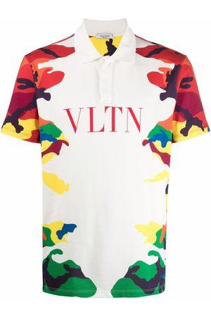 VALENTINO CAMOU7-print polo shirt