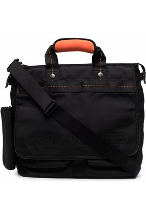 Parajumpers Tonal-stitching zipped briefcase