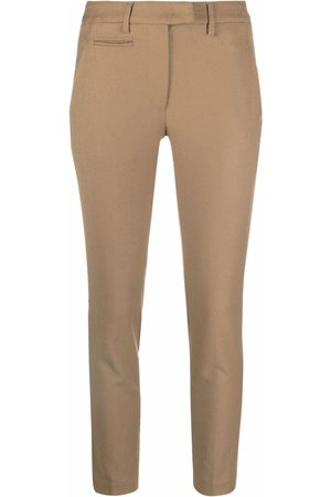 Dondup Slim-cut trousers - Neutrals
