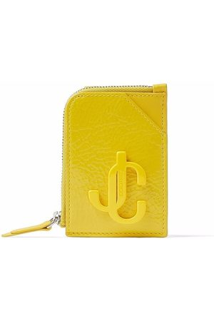 Jimmy Choo Women Purses - Leather chain-detail cardholder