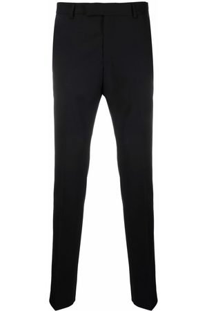 Karl Lagerfeld Dart pressed-crease tailored trousers