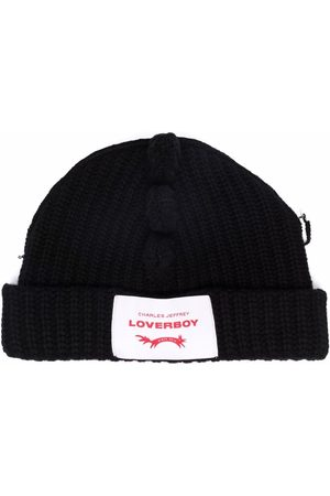 Charles Jeffrey Loverboy Chunky Spikes knitted beanie