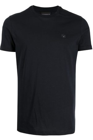 Emporio Armani Logo-patch short-sleeved T-shirt