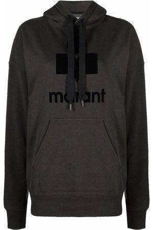Isabel Marant Mansell logo-print hoodie