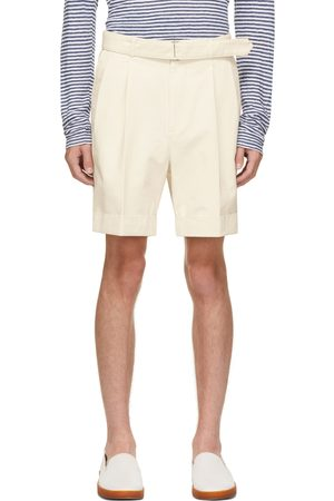 OFFICINE GENERALE Men Shorts - Off-White Organic Luigi Shorts