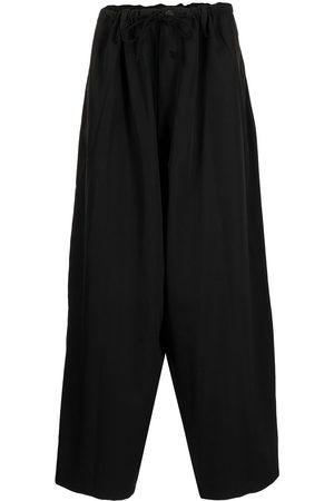 YOHJI YAMAMOTO Men Wide Leg Pants - Wide-leg trousers