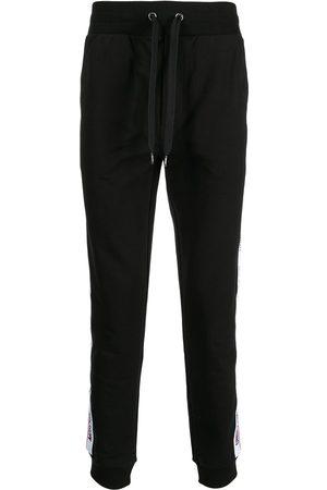 Moschino Logo-tape track pants