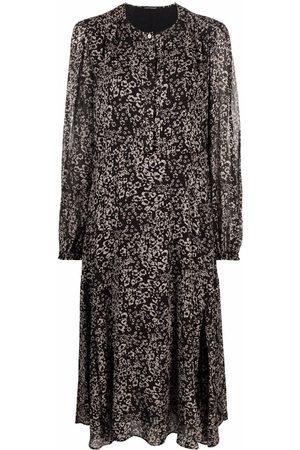 Luisa Cerano Floral-print dress