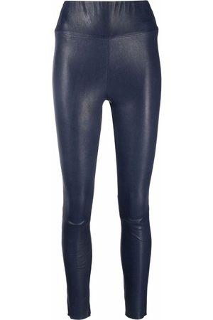 SPRWMN High-waisted leather leggings