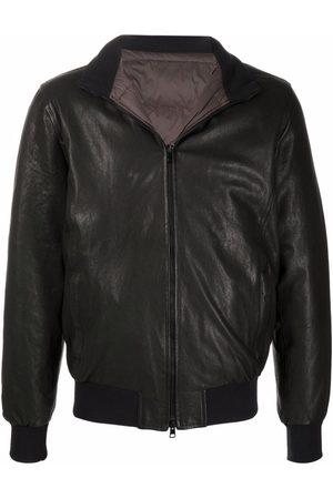 BARBA Men Leather Jackets - Nick leather bomber jacket - 02