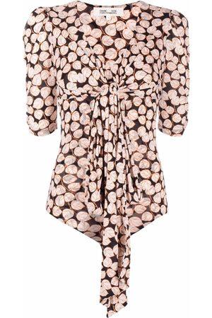 Diane von Furstenberg Foliage-print bodysuit