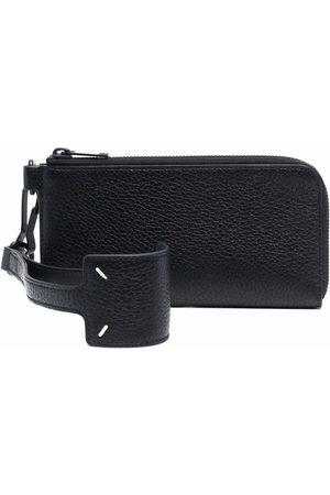 Maison Margiela Wallets - Large pebbled wallet