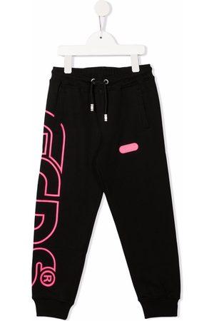 GCDS Boys Sweatpants - Logo print track pants