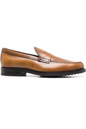 Tod's Slip-on leather loafers - Neutrals