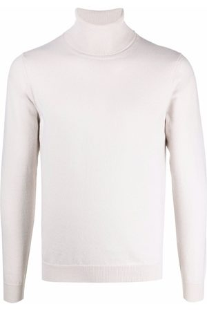 Malo Roll neck cashmere jumper - Neutrals