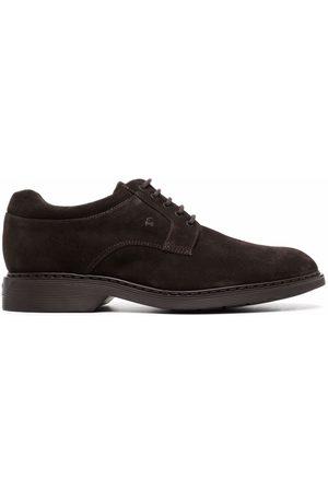 Hogan Almond-toe lace-up Derby shoes