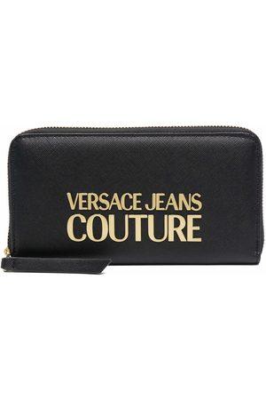 VERSACE Logo-plaque wallet