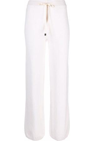 PESERICO SIGN Women Sweatpants - Drawstring-waist track trousers
