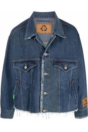 DOUBLET Cropped denim jacket