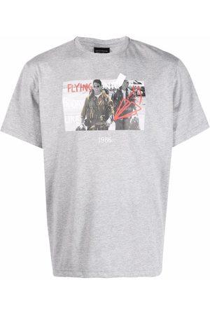 Throwback. Flying graphic-print T-shirt - Grey