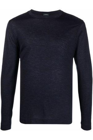 ZANONE Round neck long-sleeved T-shirt