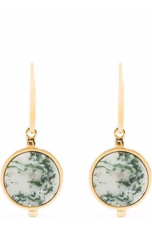 Isabel Marant Circular-pendant French-hook earrings