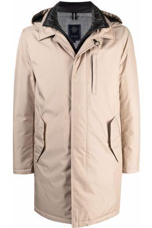 FAY Double Front raincoat - Neutrals