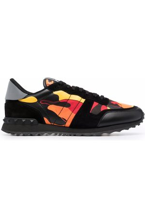 VALENTINO GARAVANI Men Sneakers - Rockrunner Camouflage low-top sneakers