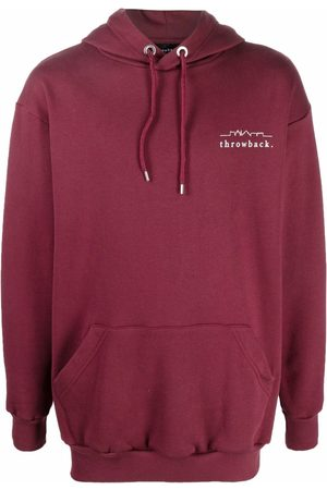 Throwback. Hoodies - Logo-print cotton hoodie