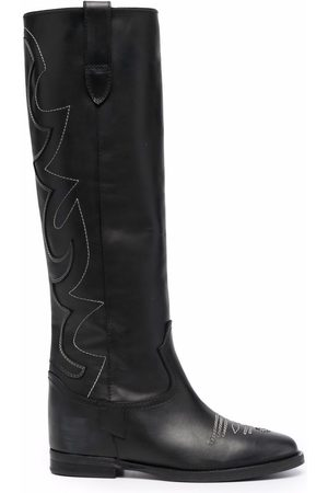 Via Roma Western-style boots