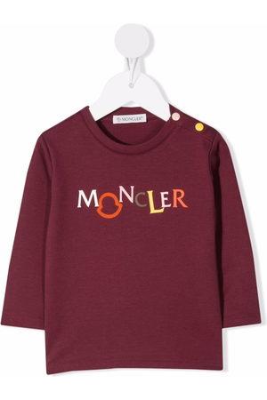 Moncler Long Sleeve - Logo-print long-sleeve T-shirt
