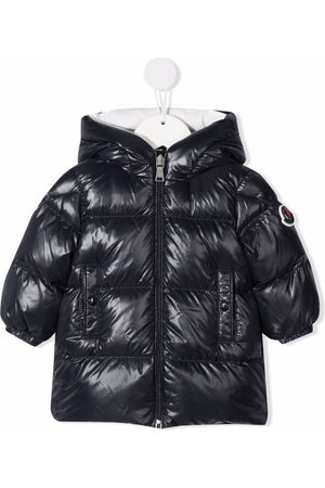 Moncler Hooded zip-up down jacket