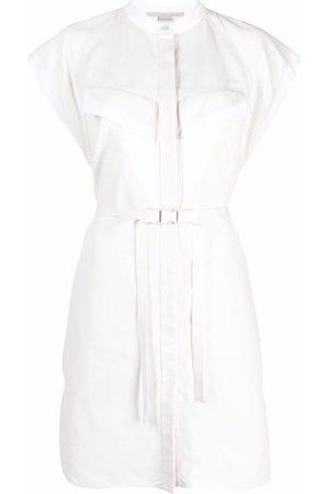Stella McCartney Lexie belted shirt dress