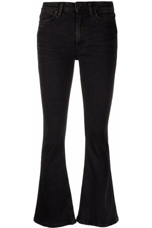 DONDUP Women Flares - Mid-rise flared-leg jeans