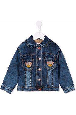 MONNALISA Patch-detail denim jacket