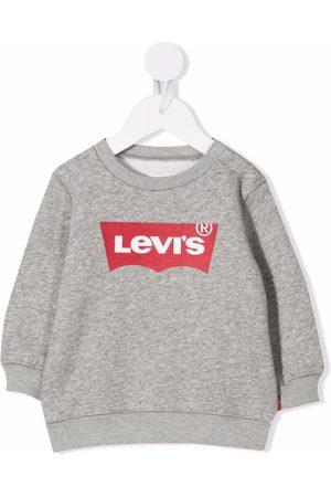 Levi's Hoodies - Logo-print fleece sweatshirt - Grey