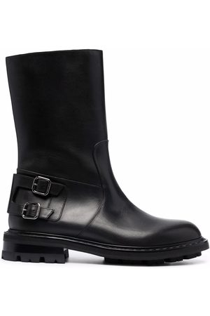 Jimmy Choo Men Biker Boots - Roscoe leather biker boots