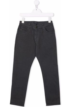 Emporio Armani Mid-rise skinny jeans - Grey
