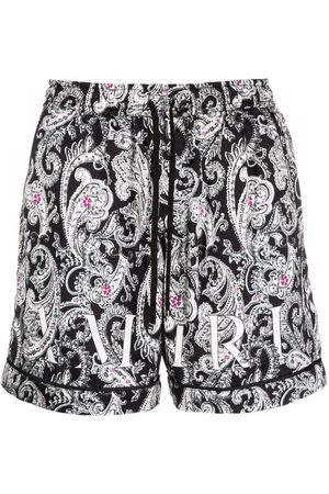 AMIRI Men Bermudas - Paisley print shorts