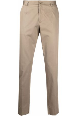 Dolce & Gabbana Men Chinos - Slim-fit trousers - Neutrals